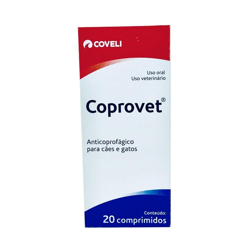 Anticoprofágico Coprovet Coveli 20 Comprimidos