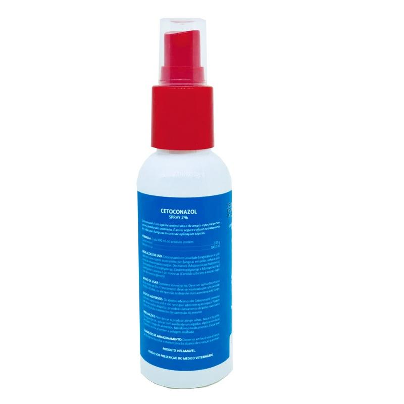 Antifúngico Ibasa Cetoconazol Spray 2% 100ml