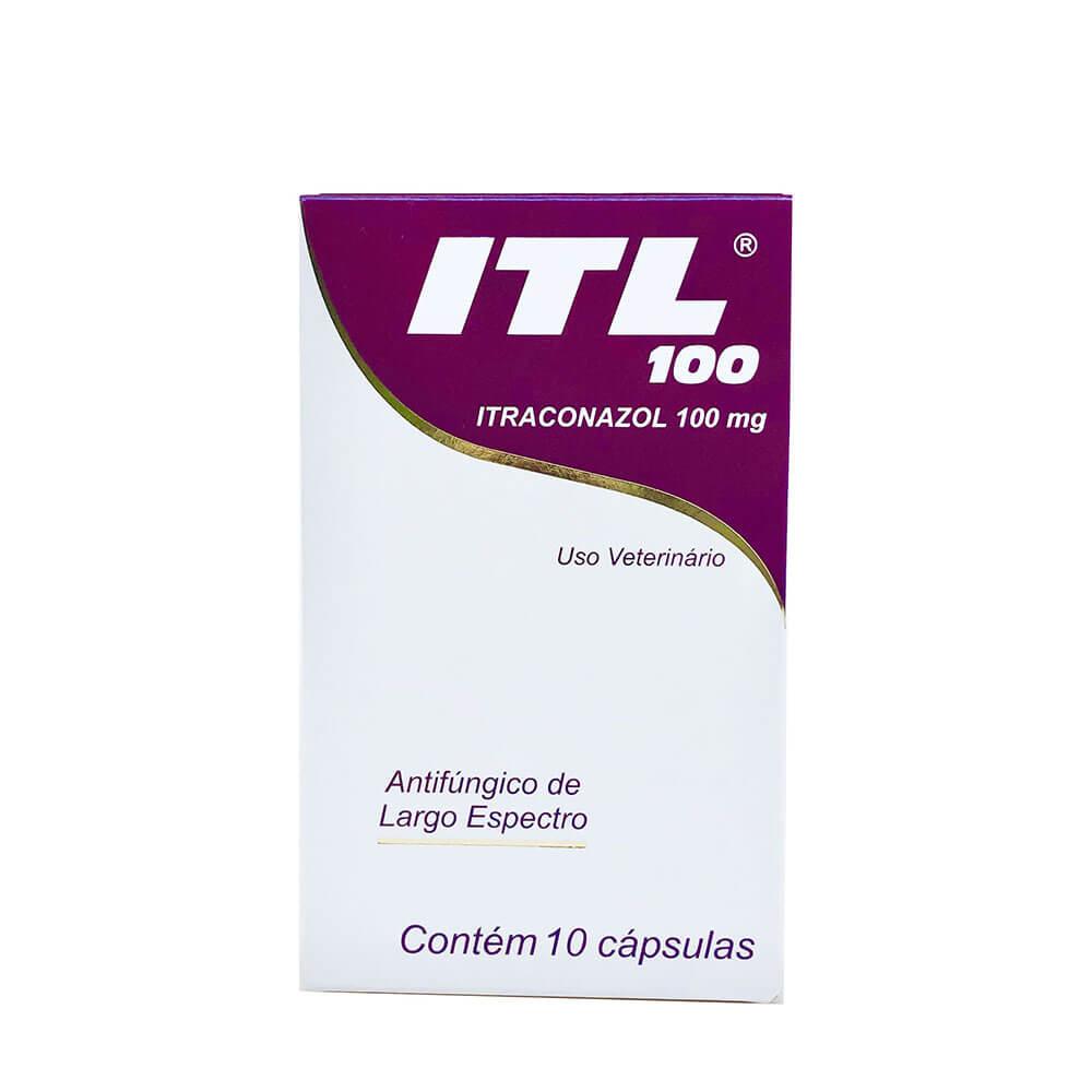 Antifúngico ITL 100 mg Cepav 10 Comprimidos