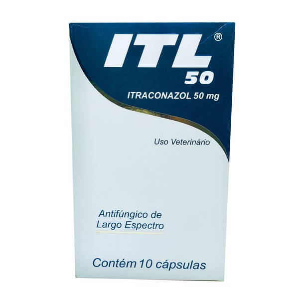 Antifúngico ITL Cepav 50 mg 10 Comprimidos