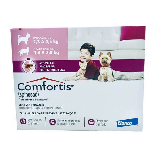 Antipulgas Comfortis Elanco 140 mg 1 Comprimido