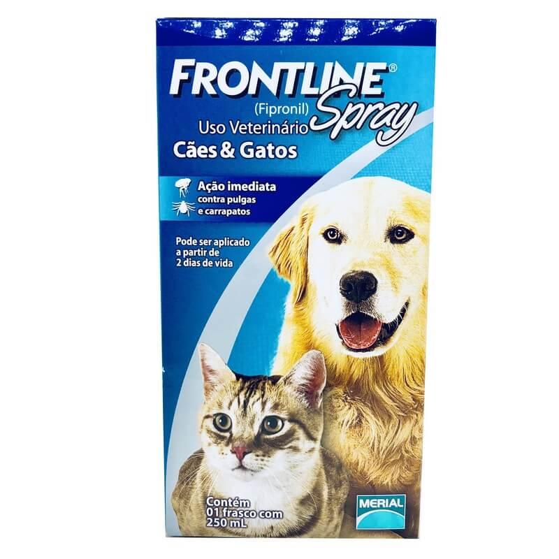 Antipulgas e Carrapatos Frontline Spray 250 ml