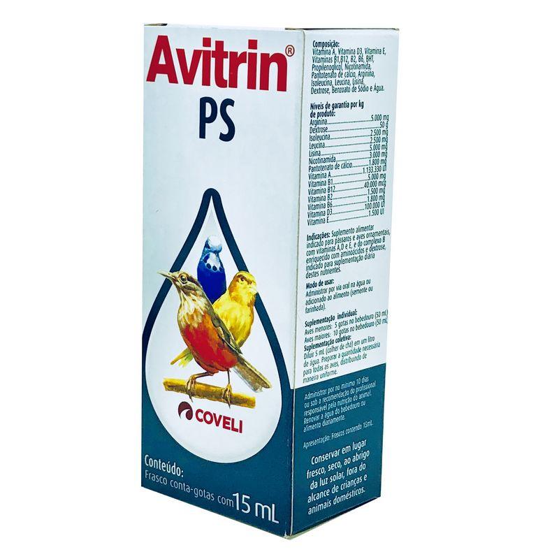 Avitrin PS Suplemento Alimentar Coveli 15 ml
