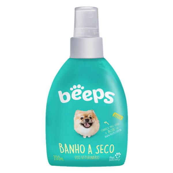 Beeps Banho a Seco Melão Cães Pet Society 200 ml