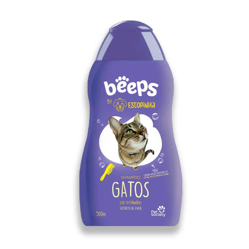 Beeps Estopinha Shampoo para Gatos Amora 500ml