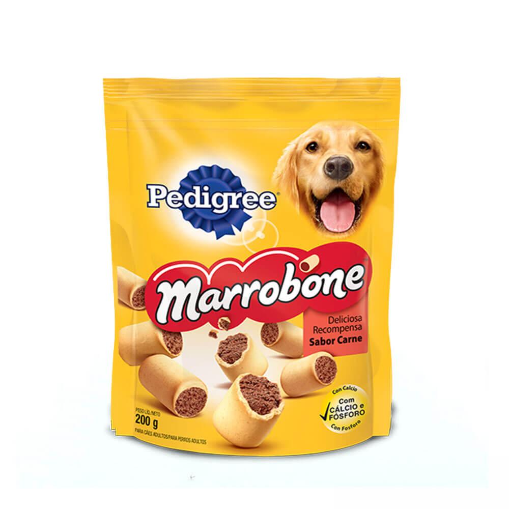 Biscoito Marrobone Pedigree para Cães sabor Carne 200g