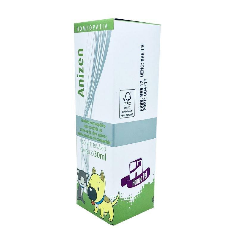 Calmante Anizen Homeo Pet Real H 30 ml