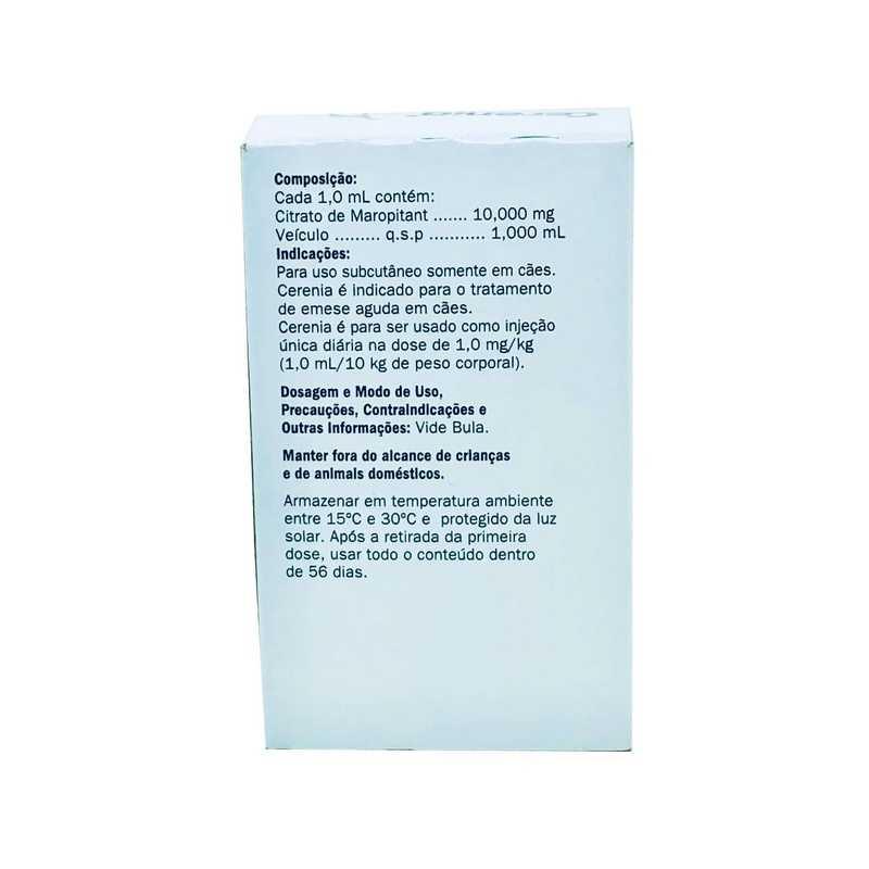 Cerenia Antiemético Injetável 20 ml Zoetis