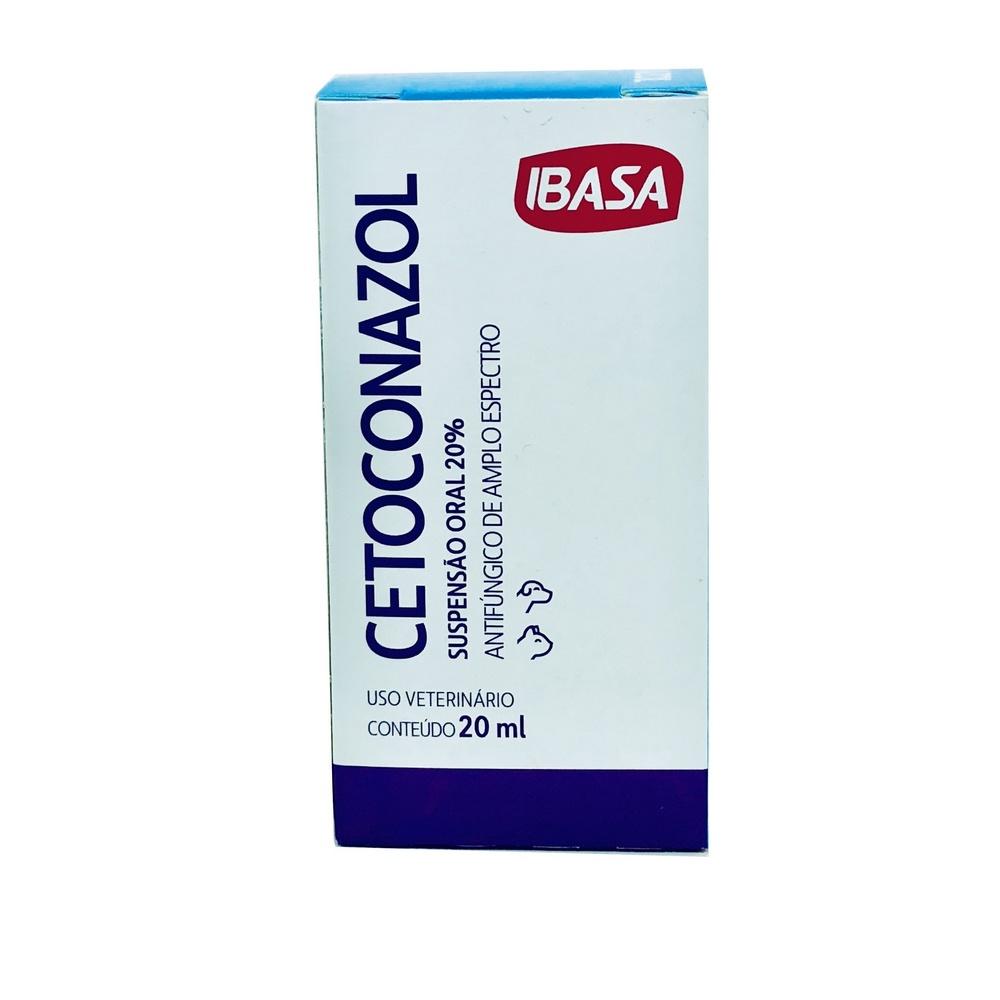 Cetoconazol Antifúngico Suspensão Ibasa 20ml