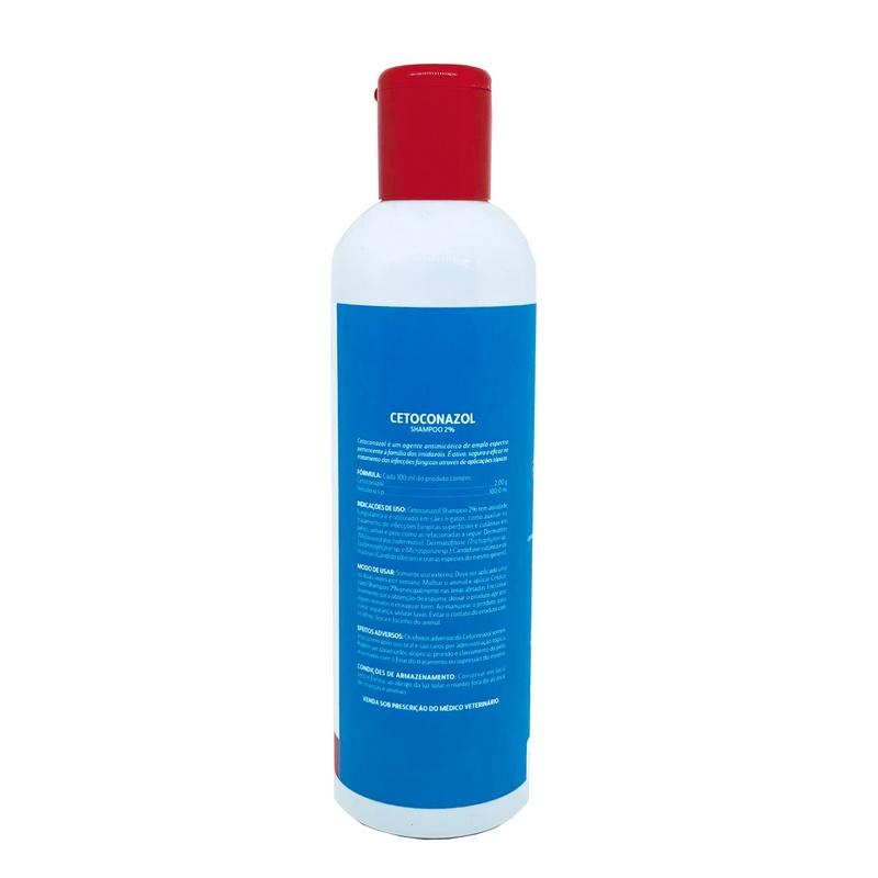 Cetoconazol Ibasa Banho 2% Shampoo Antifúngico 200ml