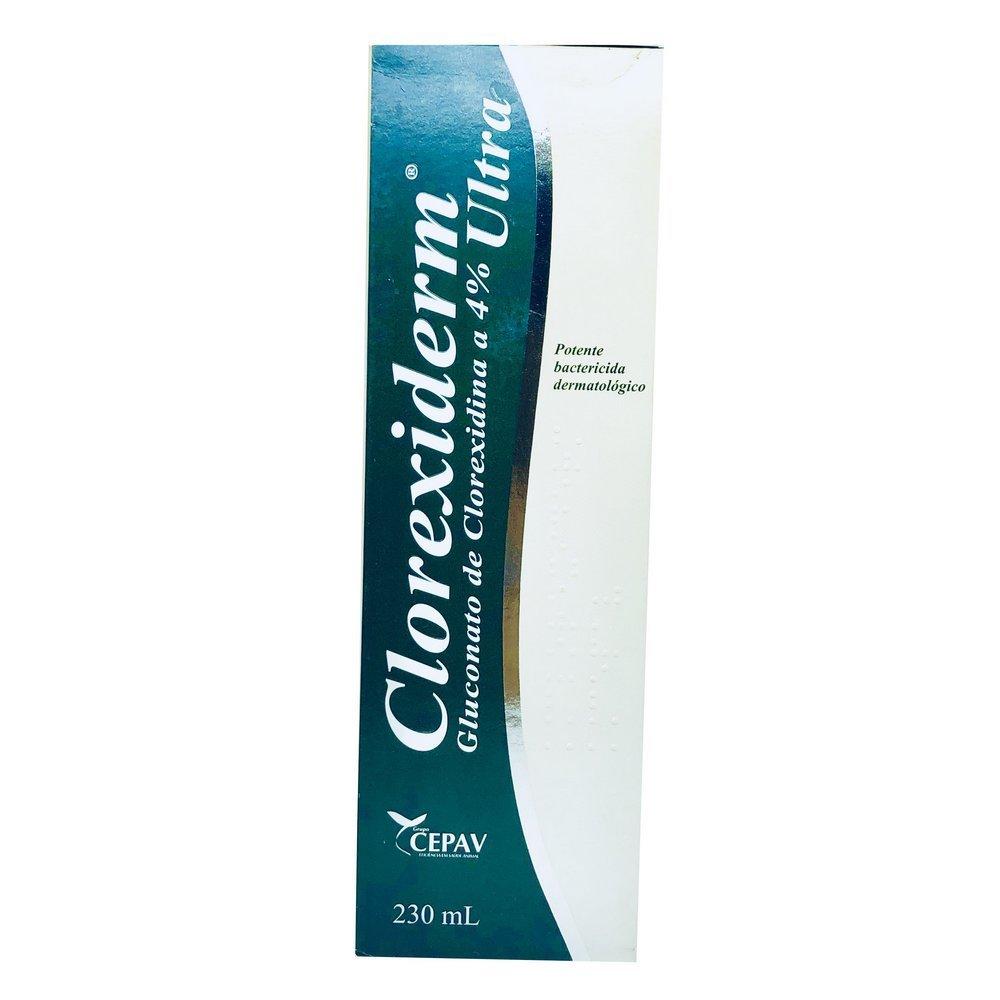 Clorexiderm Cepav Shampoo Antisséptico 230ml