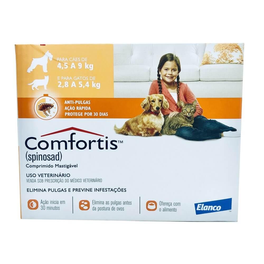 Comfortis Antipulgas Elanco 270mg 1 Comprimido