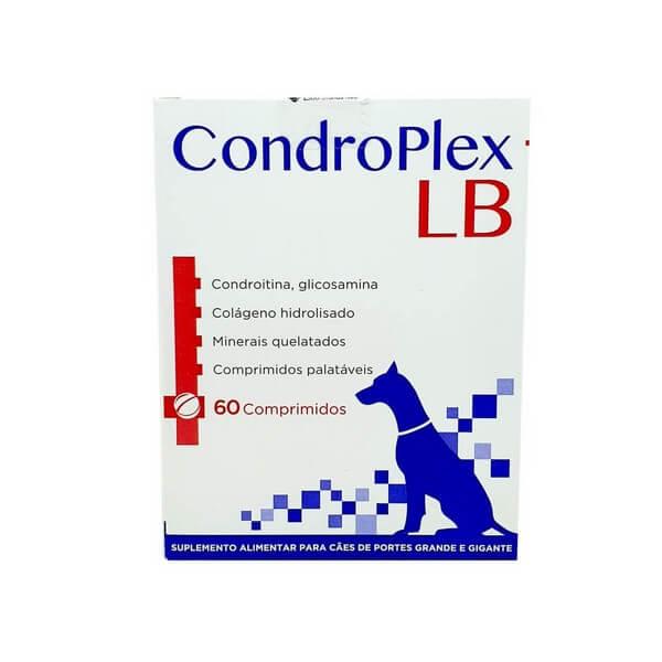 Condroplex LB Suplemento Cães Avert 60 Comprimidos