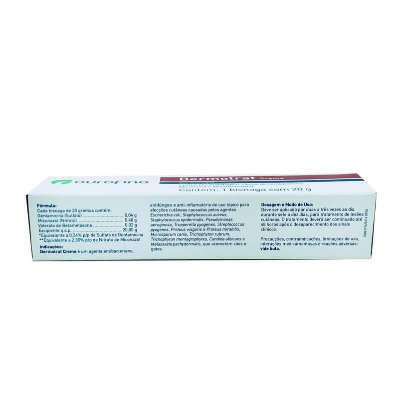 Dermotrat Creme Ourofino 20g