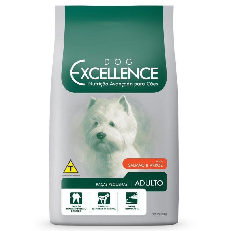Dog Excellence Raças Pequenas Adulto Salmão 10,1 kg