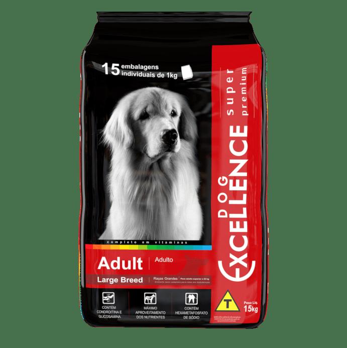Dog Excellence Super Premium Cães Adultos Raças Grandes 15 kg