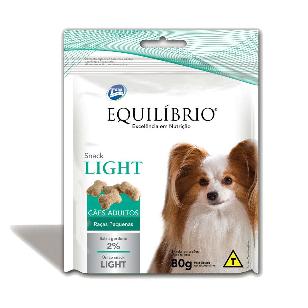 Equilibrio Snack Light Cães Pequenos 80 g