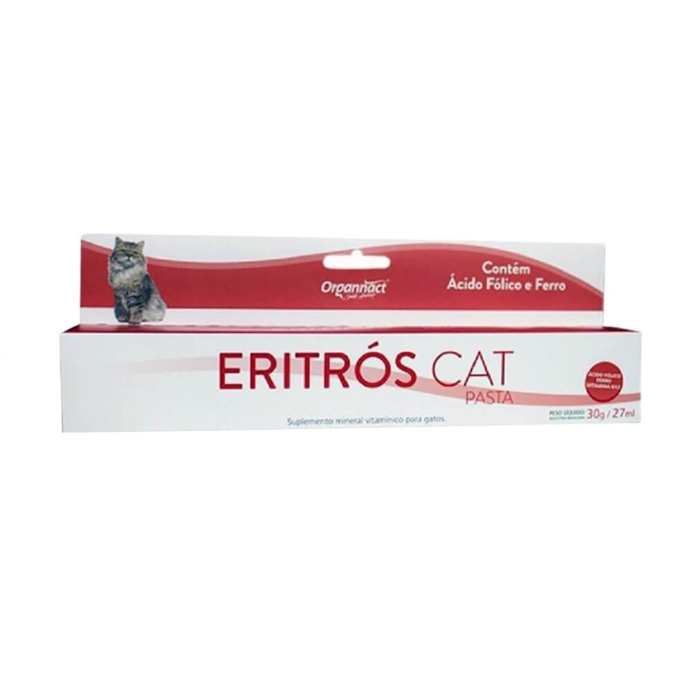 Eritrós Cat Pasta Suplemento para Gatos Organnact 30g