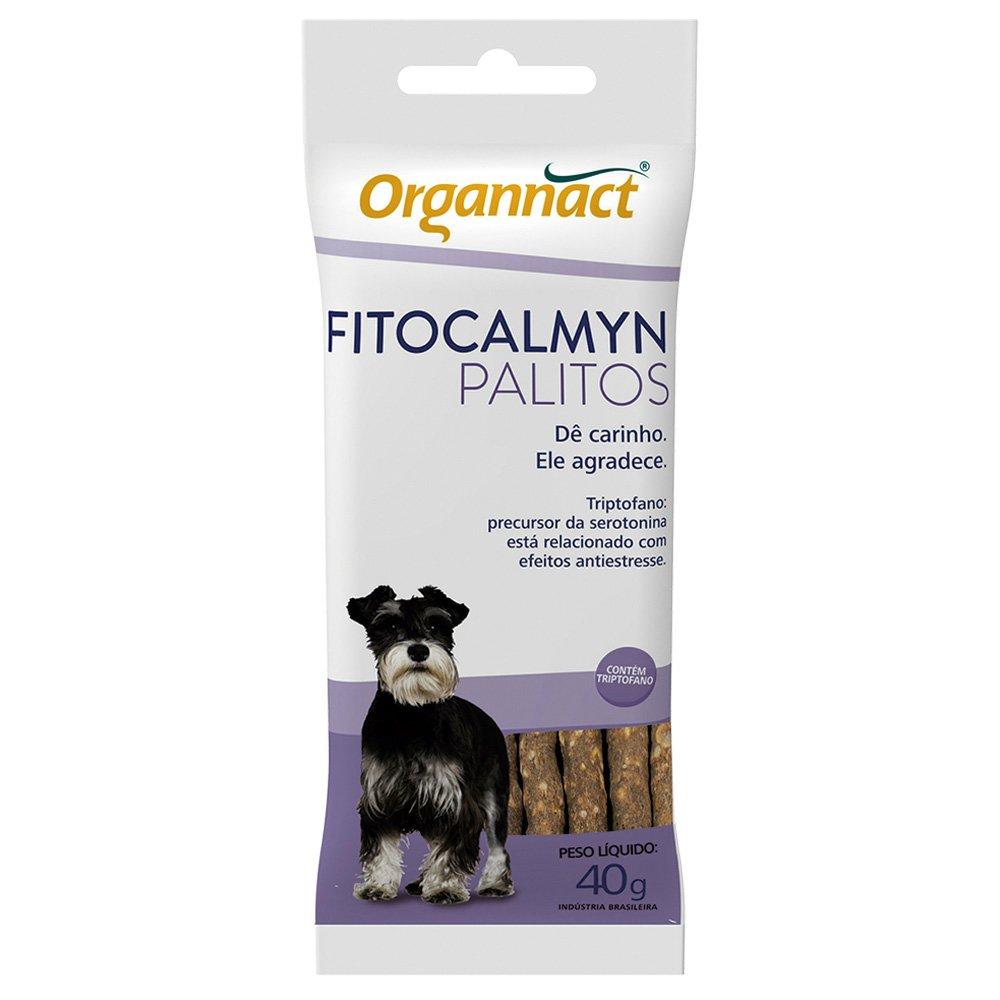 Fitocalmyn Palitos Suplemento para Cães 40g