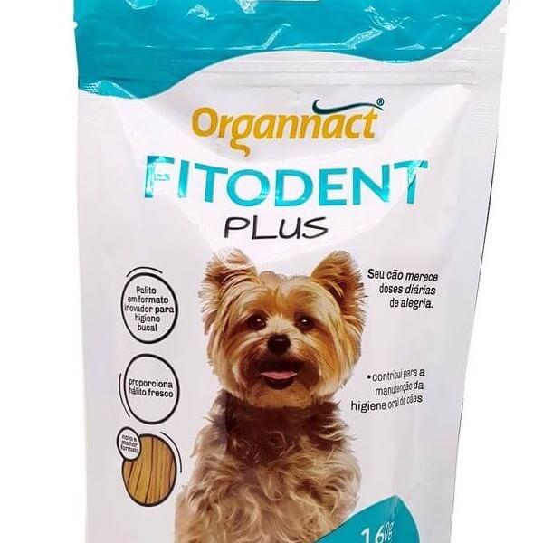 Fitodent Plus Palitos 160 g Organnact