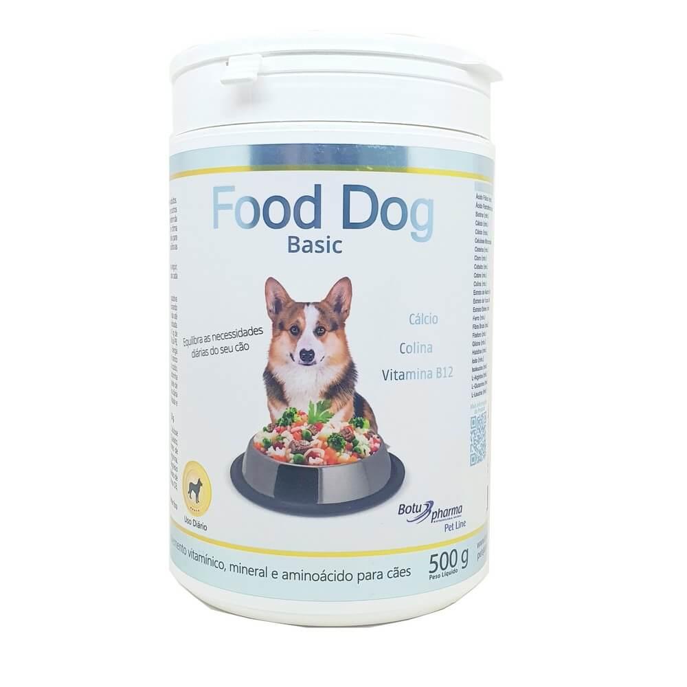 Food Dog Basic Suplemento Cães 500g Botupharma