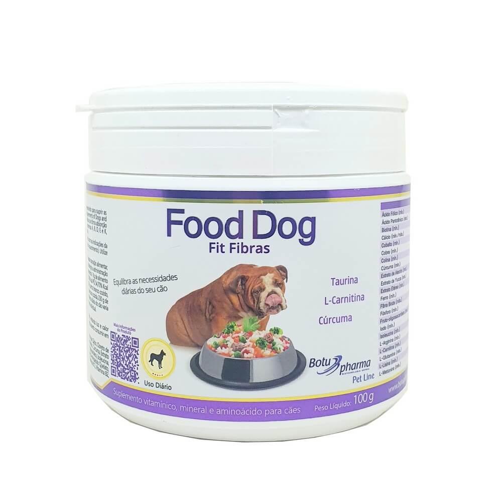 Food Dog Fit Fibras Suplemento 100g Botupharma