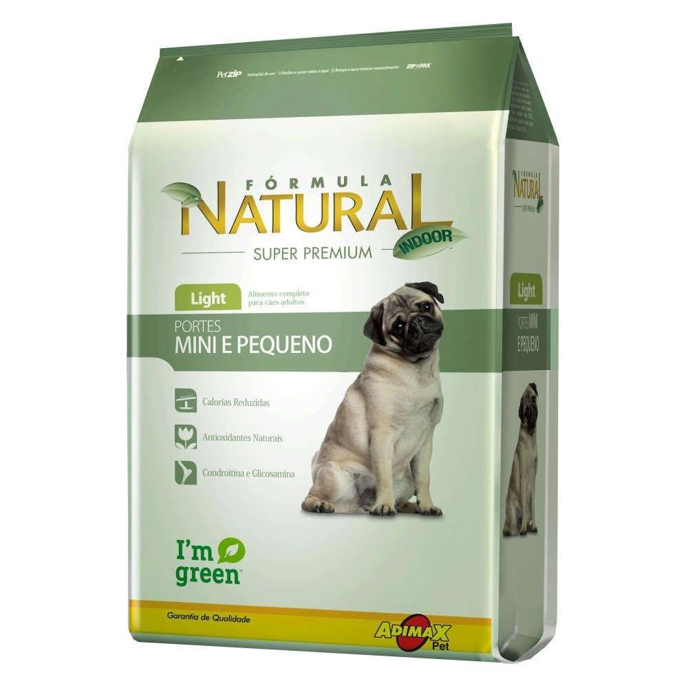 Formula Natural Cães Adultos Light Mini e Pequeno 7 kg