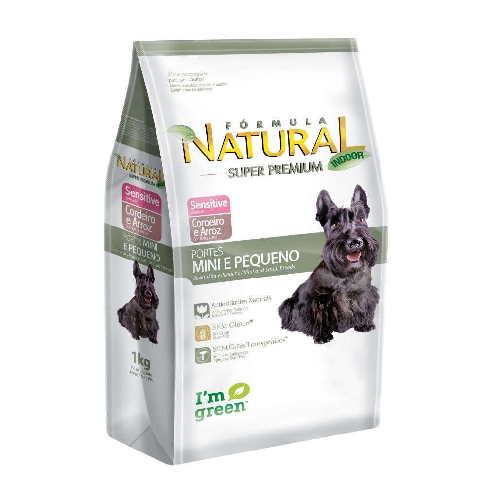 Formula Natural Cães Adultos Sensitive Mini e Pequeno 7 kg
