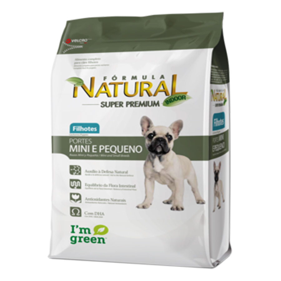 Formula Natural Cães Filhotes Mini e Pequeno 1 kg