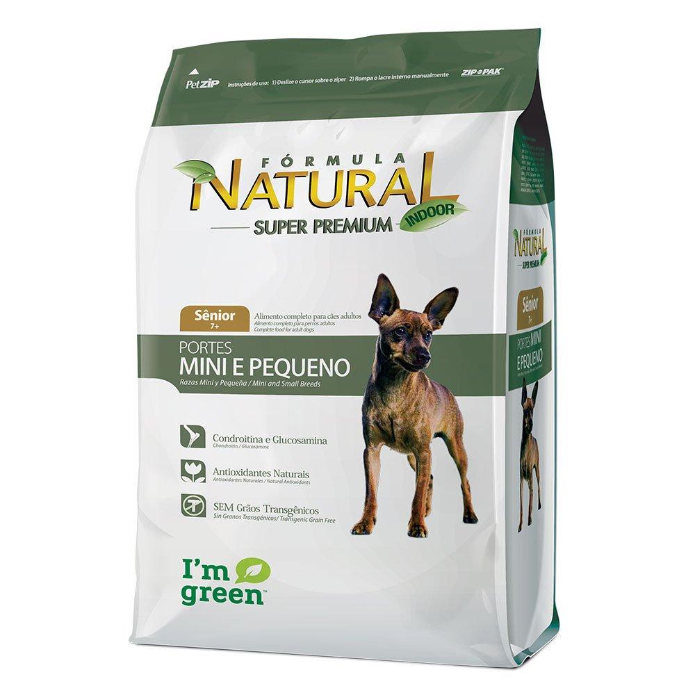 Formula Natural Cães Senior 7+ Anos Mini e Pequeno 1 kg