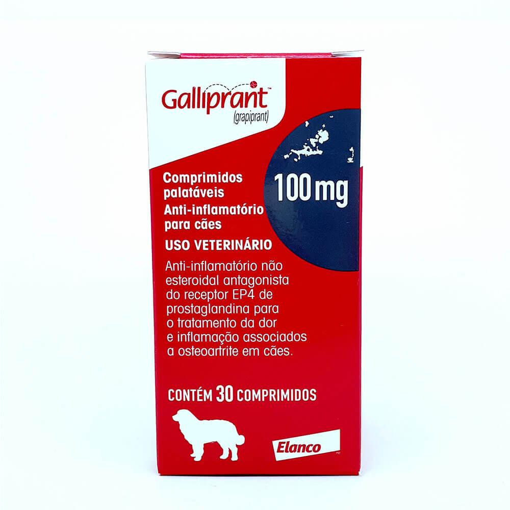 Galliprant 100mg Anti-inflamatório Cães  Elanco 30 Comprimidos