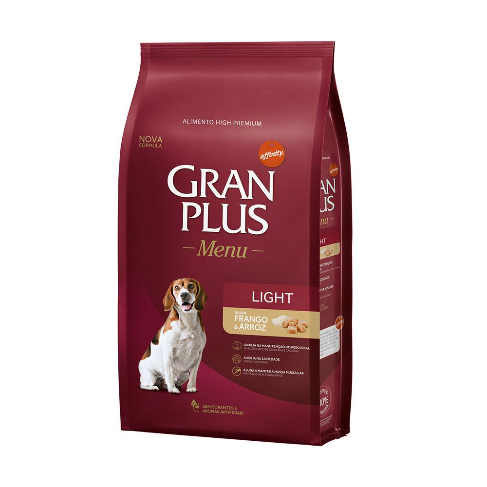 Gran Plus Cães Adulto Light 15 kg