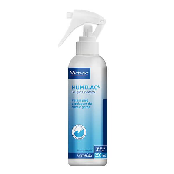 Hidratante Humilac Spray Cães e Gatos Virbac 250 ml