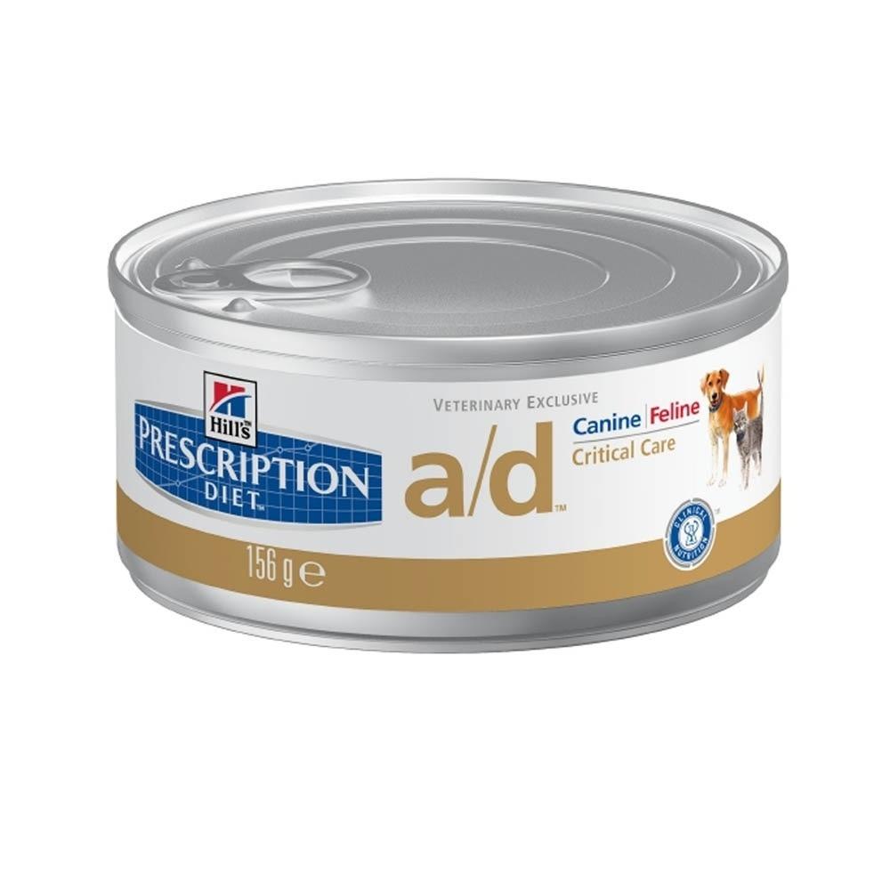 Hills Prescription Diet A/D Canine/Feline Lata 156 g