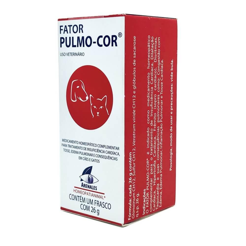 Homeopático Fator Pulmo-Cor Arenales 26 g