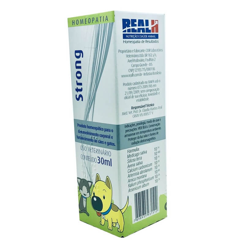 Imunidade Strong HomeoPet Real H 30 ml