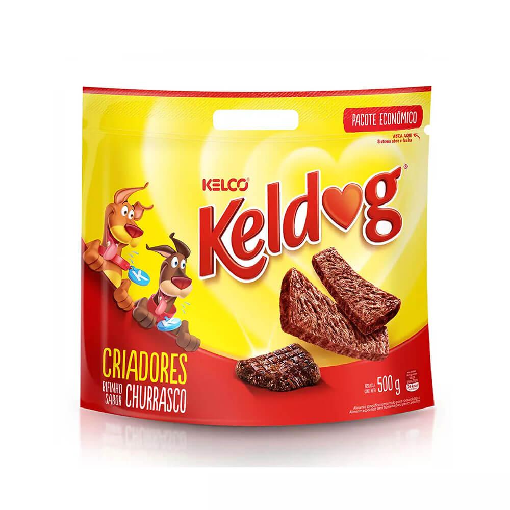 Keldog Bifinho para Cães Churrasco Kelco 500g