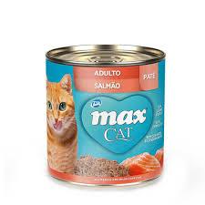 Max Cat Salmão Patê 280 g