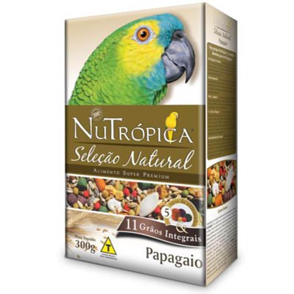 Nutropica Seleção Natural Papagaio 11 grãos 300g