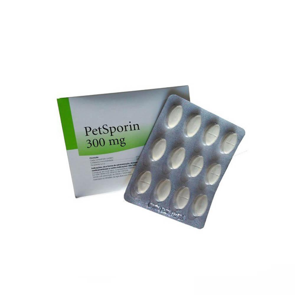 Petsporin 300 mg Mundo Animal Cartela com 12 Comprimidos