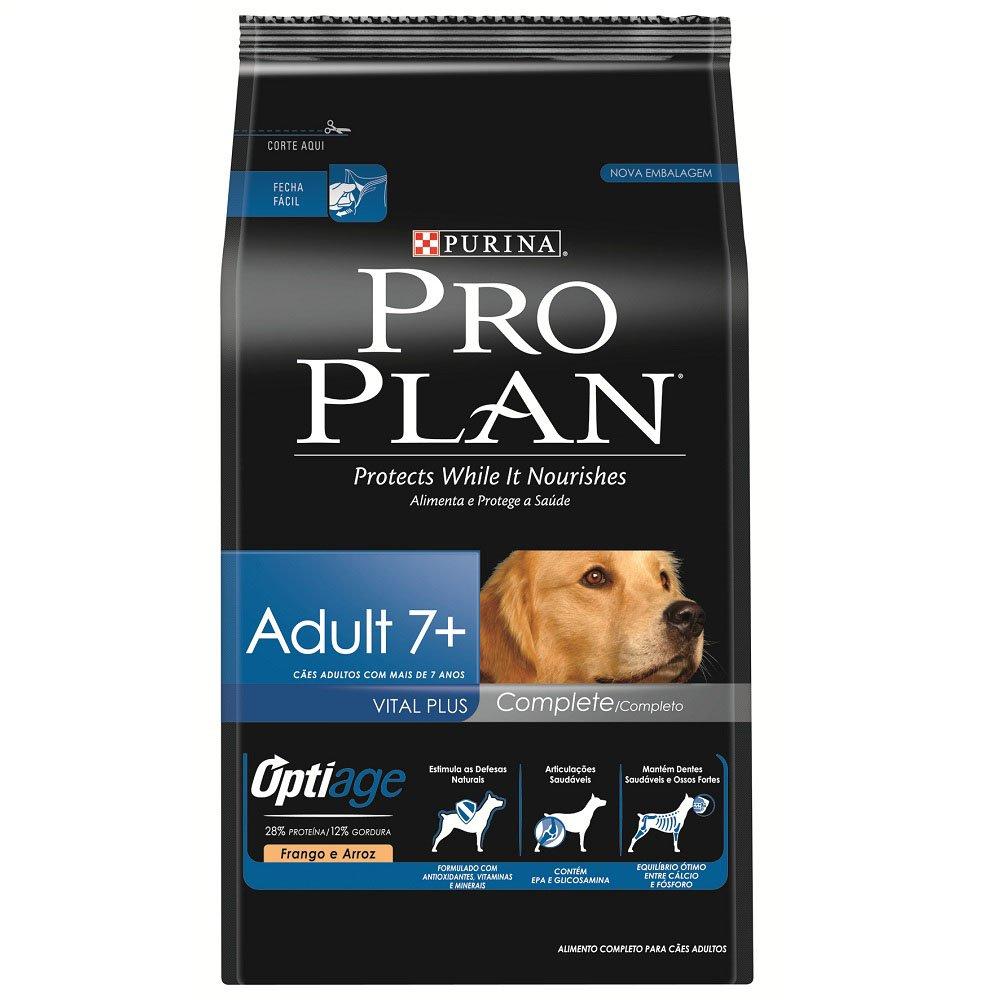 Pro Plan Adult 7+ Complete Raças Médias e Grandes 15kg