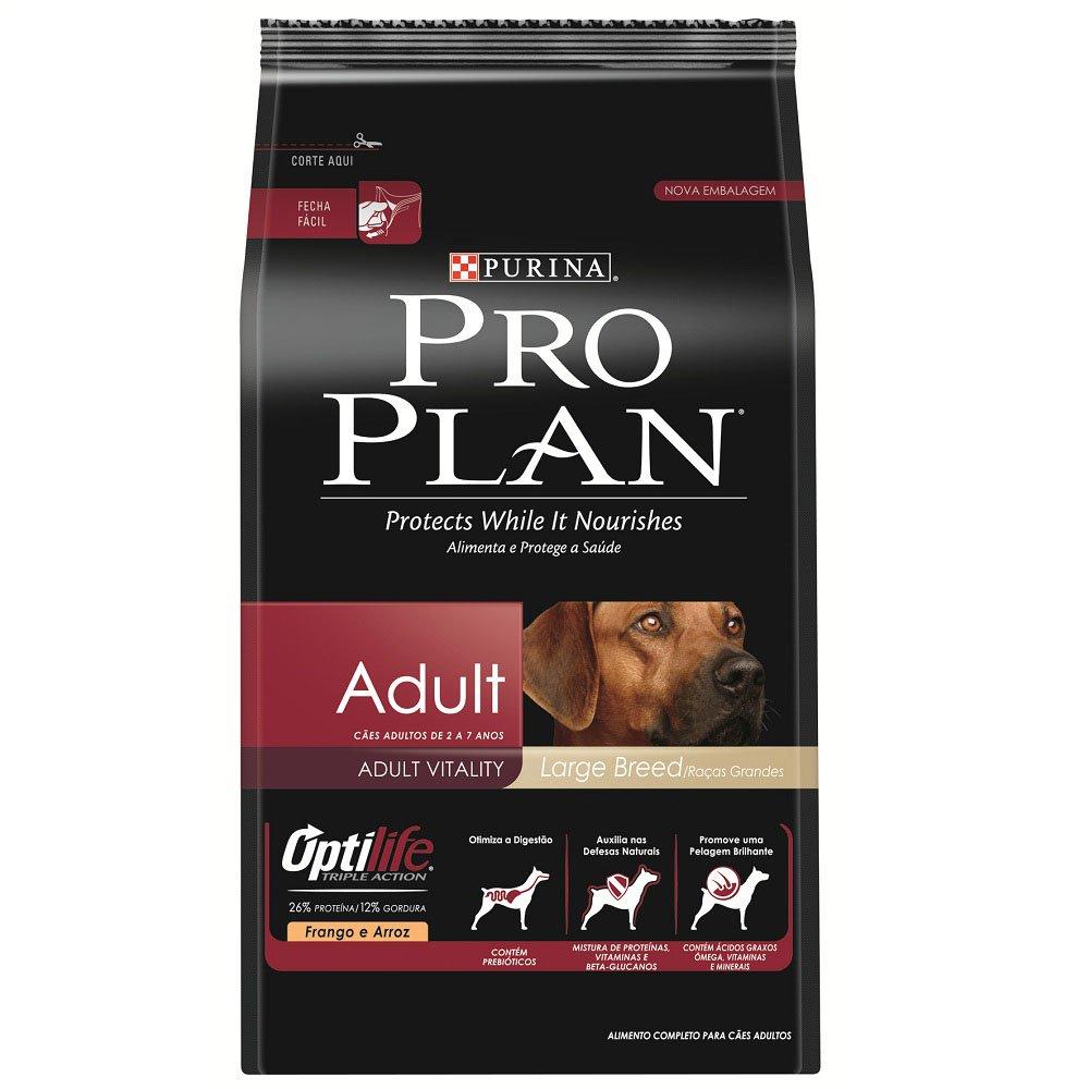 Pro Plan Adulto Raças Grandes 15kg