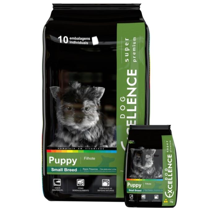 Ração Dog Excellence Super Premium Puppy Small 10,1 kg