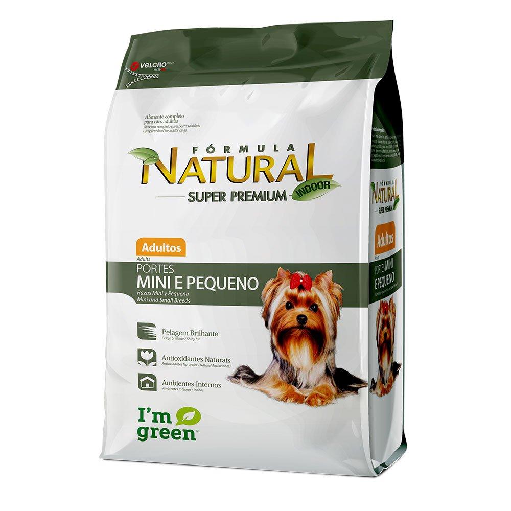 Ração Fórmula Natural Adulto Cães Mini e Pequeno 2,5kg