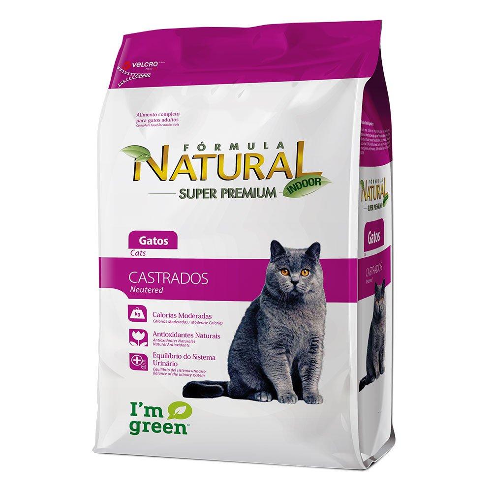 Ração Formula Natural Gato Castrado 7 kg