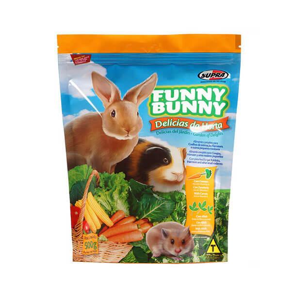 Ração Funny Bunny para Roedores Delicias da Horta Supra 500g
