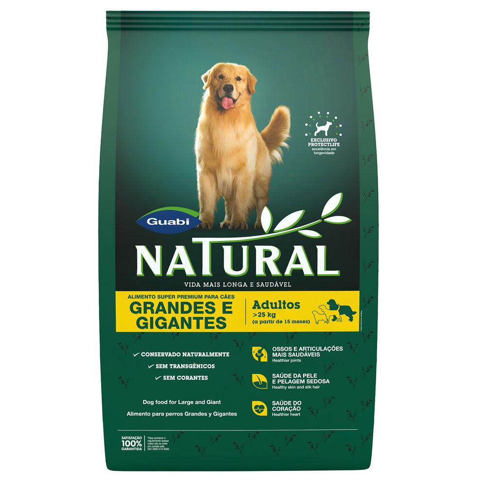 Ração Guabi Natural Cães Adultos Grandes e Gigantes 15 kg