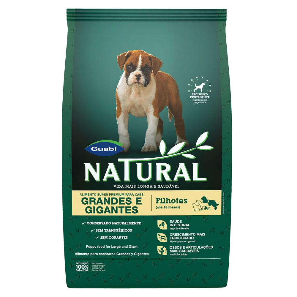 Ração Guabi Natural Cães Filhotes Grandes e Gigantes 15 kg