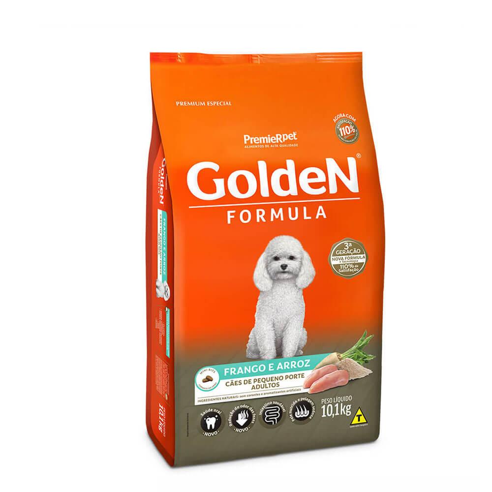 Ração Premier Golden Formula Cães de Pequeno Porte Adultos Frango e Arroz 10,1kg