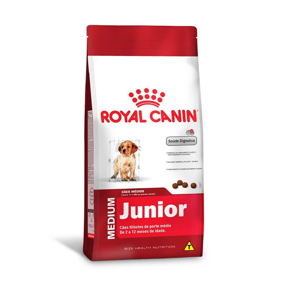 Ração Royal Canin Cães Medium Junior 15kg
